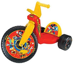 Mickey Mouse Big Wheel 16""